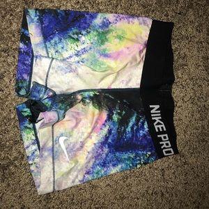 Nike pro shorts